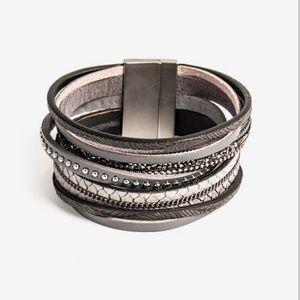 Beautiful Leather Octavia & Co. Bracelet
